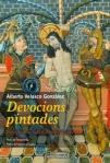 Portada del llibre d'A. Velasco: Devocions pintades. Retaules de les Valls d'Àneu