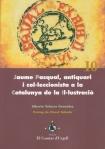 Portada del llibre d'A. Velasco titulat Jaume Pasqual, antiquari i col·leccionista a la Catalunya de la Il·lustració
