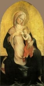 Fig.1_Madonna col Bambino de Masolino
