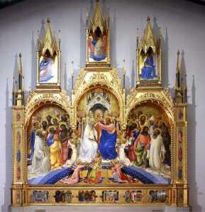 Fig2_Coronació de la Mare de Déu de Lorenzo Monaco