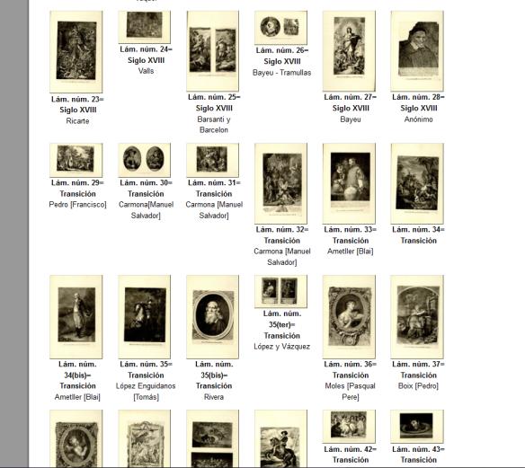 Exposición de grabados de autores españoles celebrada por la Asociación Artístico-Arqueológica Barcelonesa