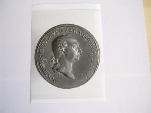 Vincenzo Cocchi. Medalla commemorativa del Senat romà a José Nicolás de Azara, 1796
